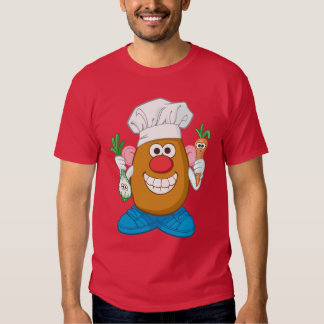 Mr. Potato Head - Chef T Shirts