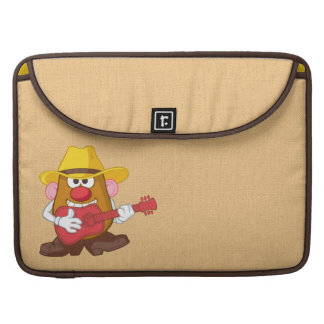 Mr. Potato Head - Cowboy Sleeves For MacBook Pro
