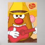 Mr. Potato Head - Cowboy Poster