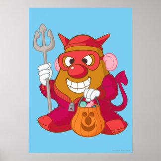 Mr. Potato Head - Devil Poster