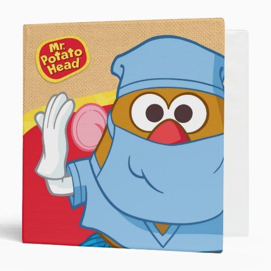 Mr. Potato Head - Doctor 3 Ring Binder | Zazzle.com