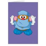 Mr. Potato Head - Doctor Greeting Card