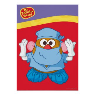 Mr. Potato Head - Doctor Poster