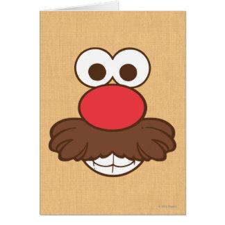 Mr. Potato Head Face Card