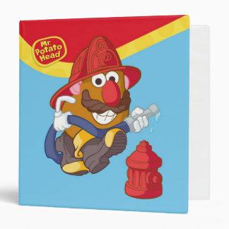Mr. Potato Head - Fireman Binder