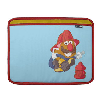 Mr. Potato Head - Fireman MacBook Sleeves