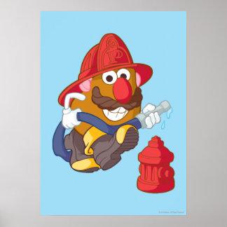 Mr. Potato Head - Fireman Poster