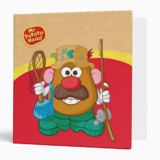 Mr. Potato Head - Fisherman 3 Ring Binder