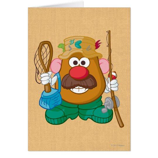 Mr. Potato Head - Fisherman Card