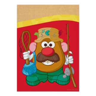 Mr. Potato Head - Fisherman Poster