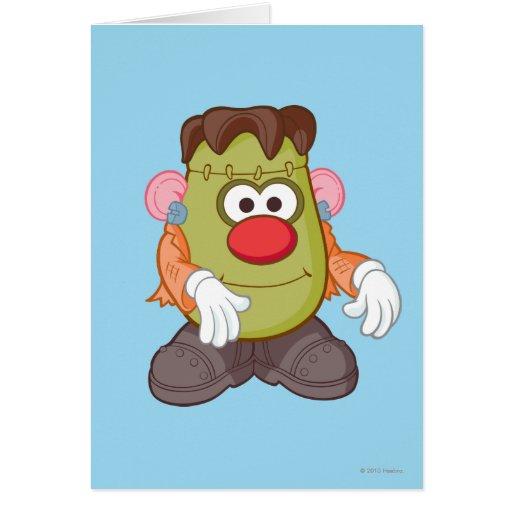 Mr. Potato Head - Frankenstein Card