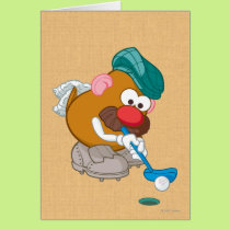 Mr. Potato Head - Golfer Card