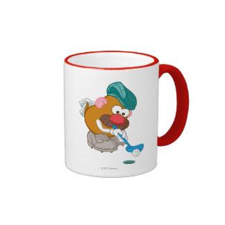 Mr. Potato Head - Golfer Ringer Coffee Mug