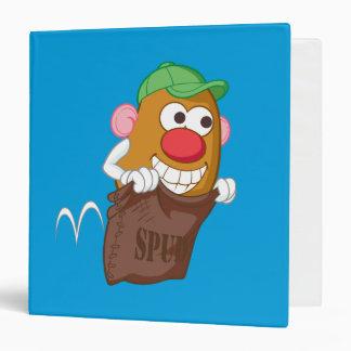 Mr. Potato Head Hopping in Potato Sack Binder