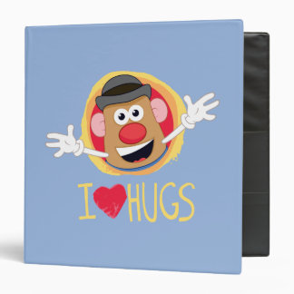 Mr. Potato Head - I Love Hugs Binder