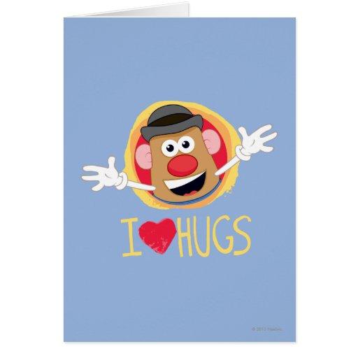 Mr. Potato Head - I Love Hugs Cards