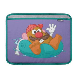 Mr. Potato Head in Tube MacBook Air Sleeve