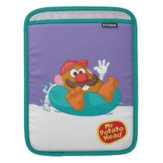 Mr. Potato Head in Tube iPad Sleeves