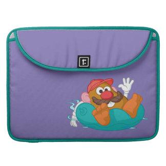 Mr. Potato Head in Tube MacBook Pro Sleeve
