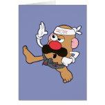 Mr. Potato Head - Karate Greeting Card