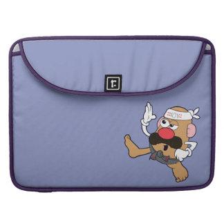 Mr. Potato Head - Karate Sleeves For MacBooks