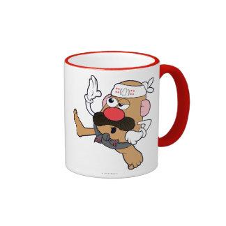Mr. Potato Head - Karate Ringer Mug