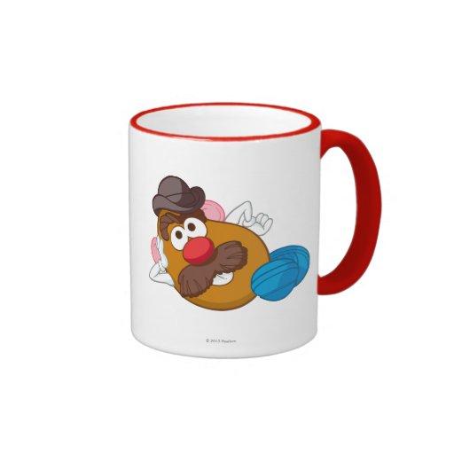 Mr. Potato Head Laying Down Coffee Mugs