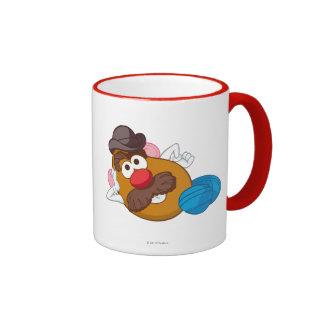 Mr. Potato Head Laying Down Ringer Mug