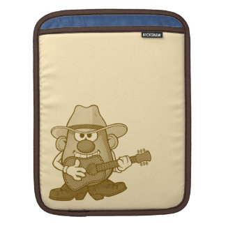 Mr. Potato Head Playing Guitar iPad Sleeve