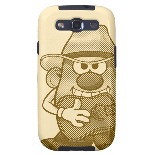 Mr. Potato Head Playing Guitar Samsung Galaxy S3 Cover
