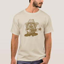 Mr. Potato Head Playing Guitar T-Shirt