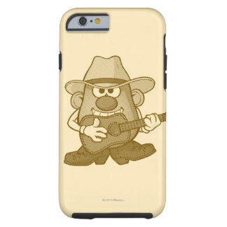 Mr. Potato Head Playing Guitar Tough iPhone 6 Case