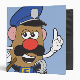 Mr. Potato Head Policeman Binder