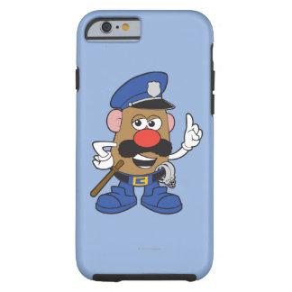 Mr. Potato Head Policeman Tough iPhone 6 Case