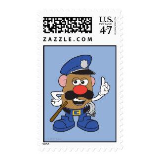 Mr. Potato Head Policeman Postage