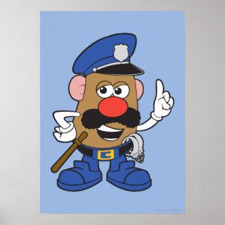 Mr. Potato Head Policeman Poster