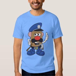 Mr. Potato Head Policeman Shirt