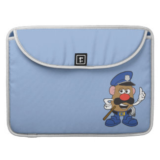 Mr. Potato Head Policeman Sleeve For MacBooks