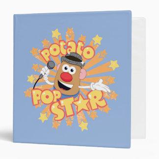 Mr. Potato Head - Pop Star Binder