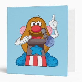 Mr. Potato Head - President 3 Ring Binder
