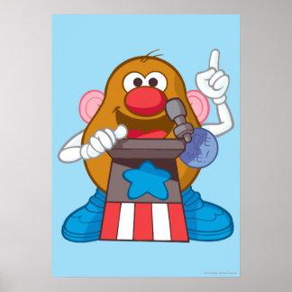 Mr. Potato Head - President Poster