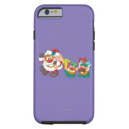 Mr Potato Head _ Santa and Elves Tough iPhone 6 Case