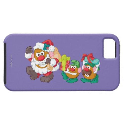Mr Potato Head _ Santa and Elves iPhone SE55s Case