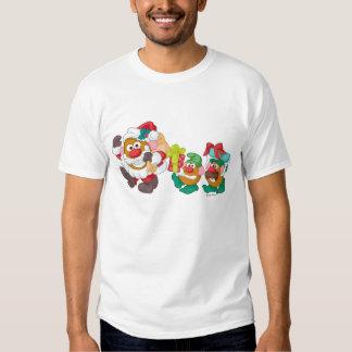 Mr. Potato Head - Santa and Elves T Shirt