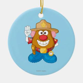 Mr. Potato Head - Sheriff Ceramic Ornament