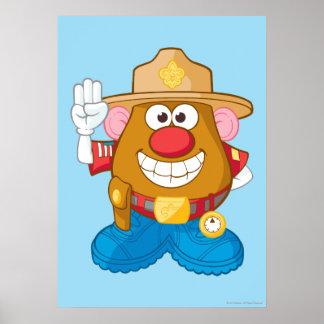 Mr. Potato Head - Sheriff Poster