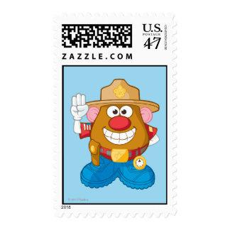 Mr. Potato Head - Sheriff Stamp