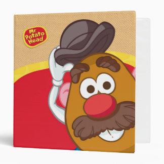 Mr. Potato Head Tipping Hat Binder