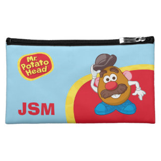 Mr. Potato Head Tipping Hat Cosmetic Bags