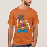 """Mr. Potato Head Tipping Hat T-Shirt<br><div class=""""desc"""">Character Art</div>"""